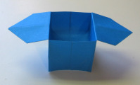 Completed Origami Candy Dish Box