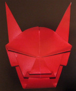 Origami Devil Mask Hm