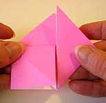 Origami Heart Step 7