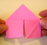 Origami Heart Step 8b