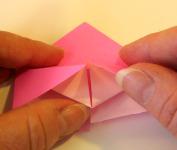 Origami Heart Step 9