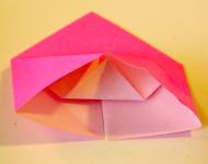 Origami Heart Step 10b