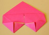 Origami Heart Step 12