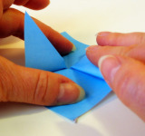 Origami Morning Glory Step 8b