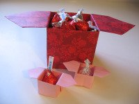 Origami Candy Dish Box