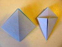 Origami Morning Glory Step 5