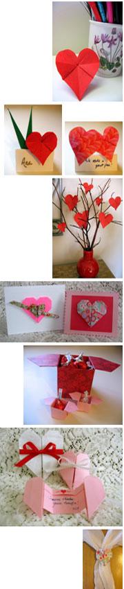 Origami Valentine Crafts